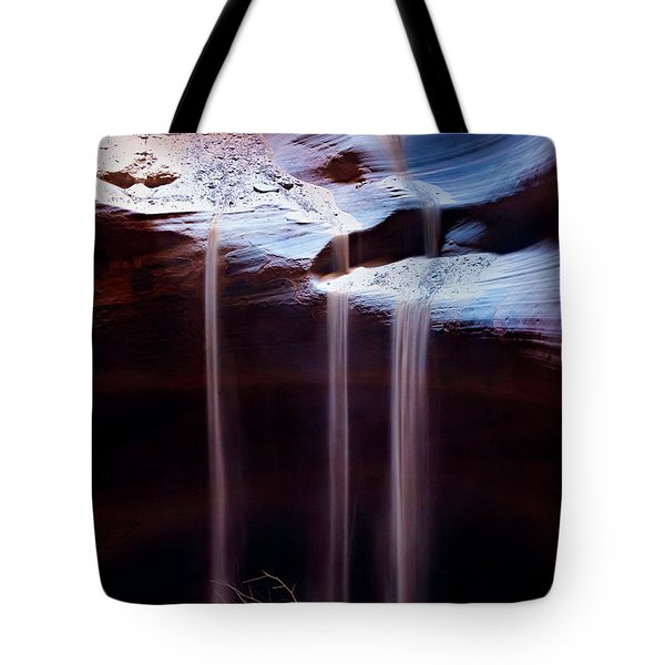 Shifting Sands Tote Bag by Dave Bowman