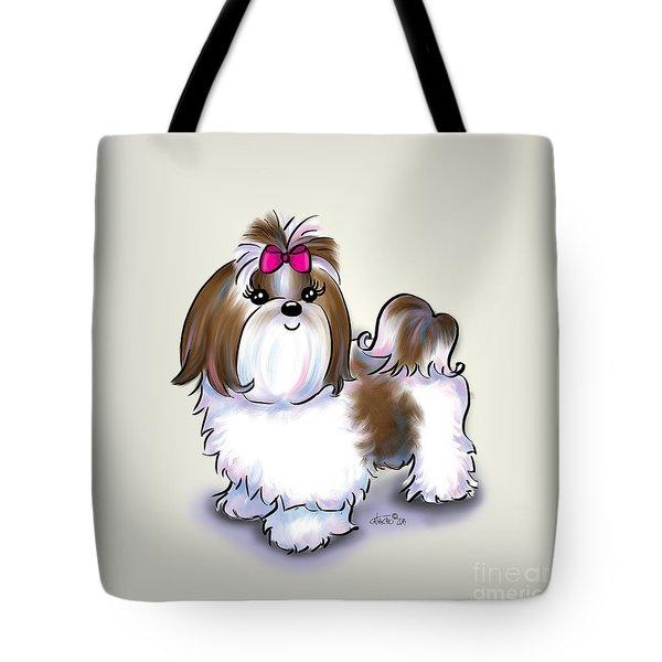 Shih Tzu Beauty Tote Bag by Catia Cho