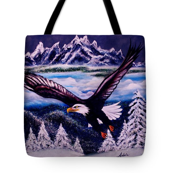 Shiloh Tote Bag by Adele Moscaritolo