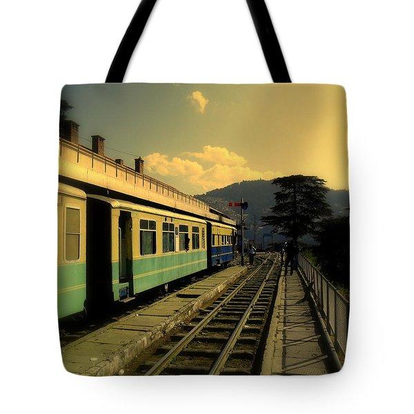 Shimla Railway Station Tote Bag
