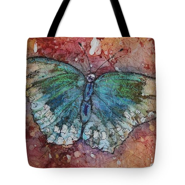 Shimmer Wings Tote Bag