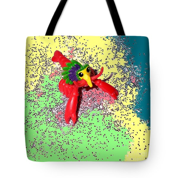 Tote Bag featuring the photograph Shimmering Lobster by Joseph Baril