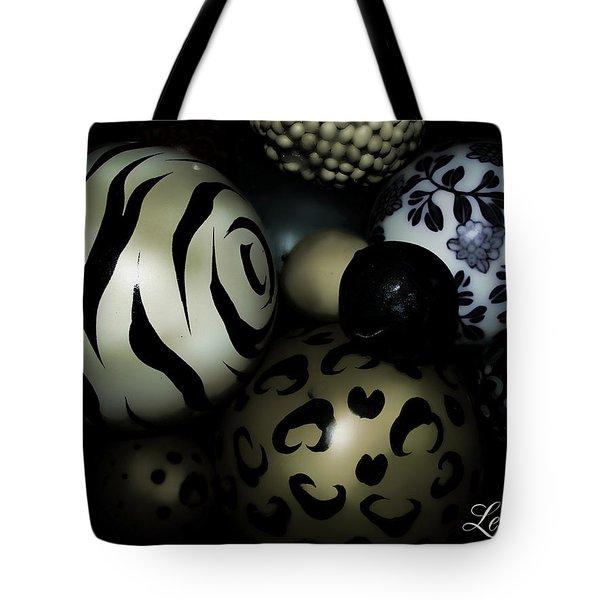 Shimmery Spheres Tote Bag
