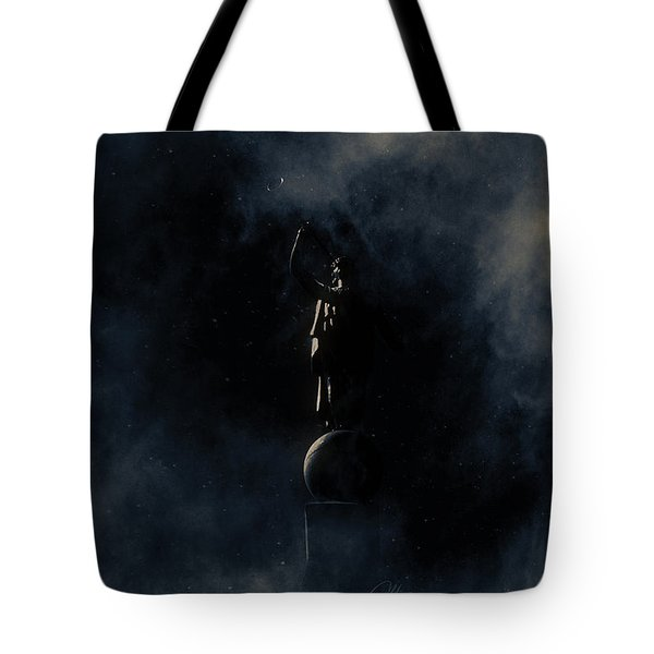 Tote Bag featuring the photograph Shine Forth In Darkness by Greg Collins