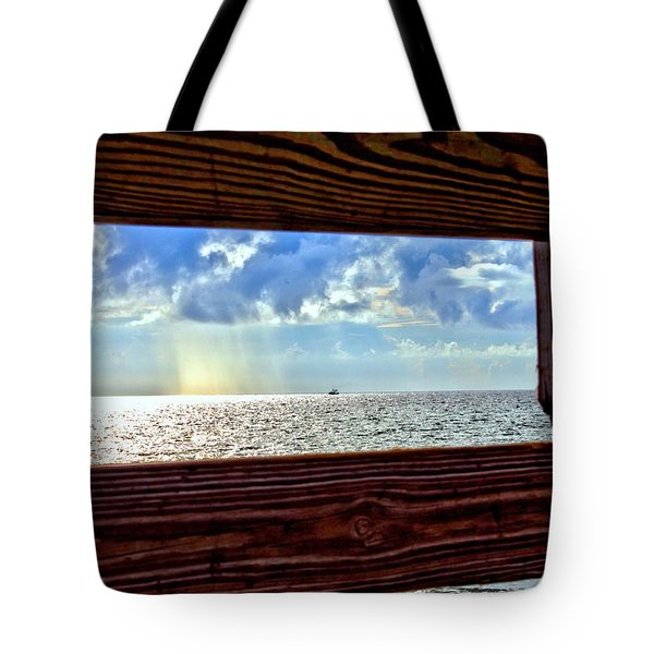 Shine It Down Tote Bag