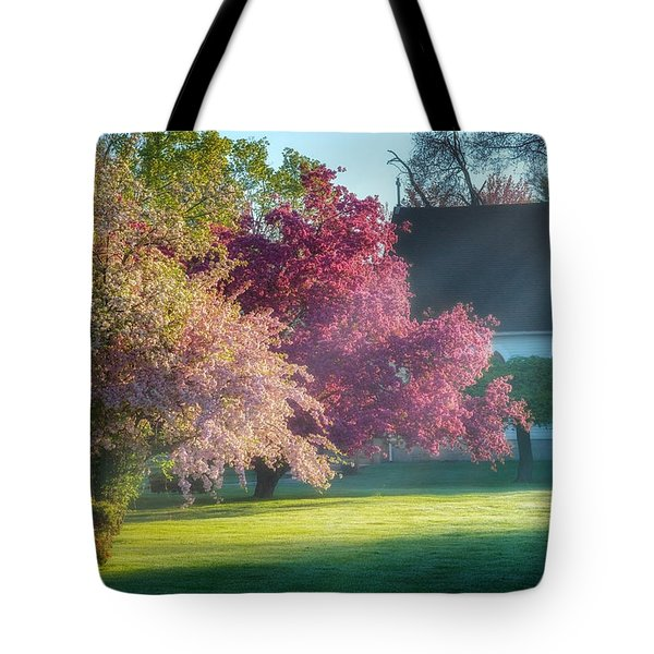 Shine The Light On Me Tote Bag by Bill Wakeley