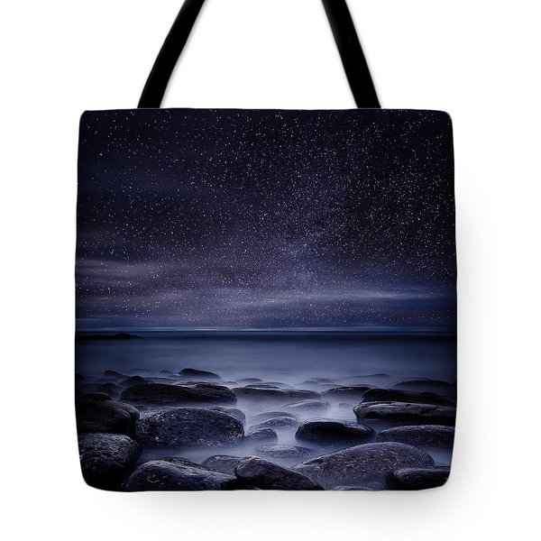 Shining In Darkness Tote Bag