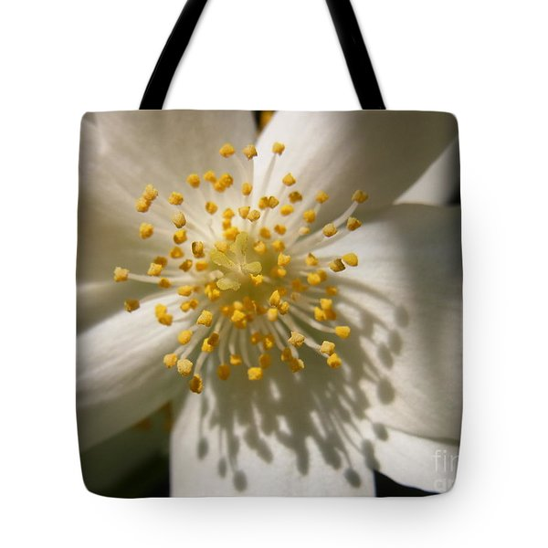 Shining Love Tote Bag by Agnieszka Ledwon