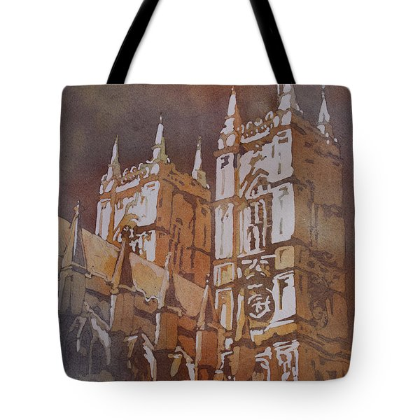 Shining Out Of The Rain Tote Bag by Jenny Armitage