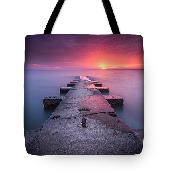 Shining Right Tote Bag