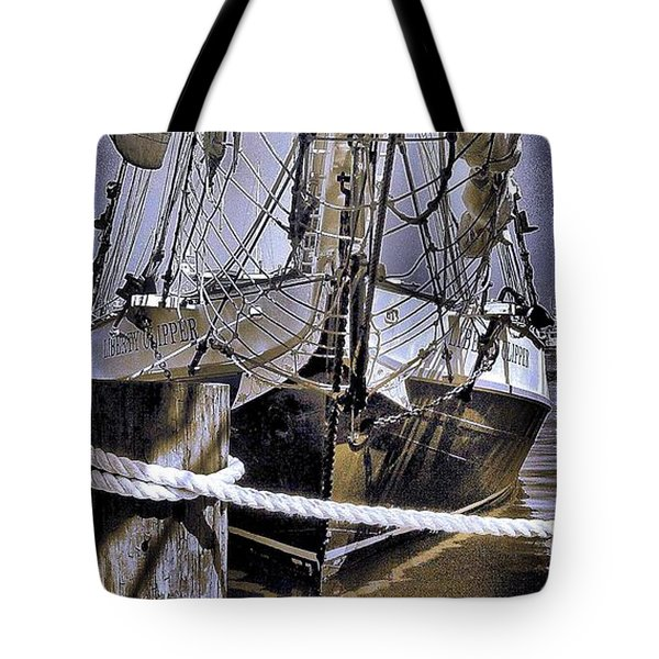 Shining Sea Tote Bag