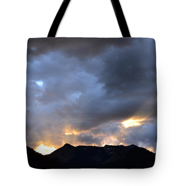 Tote Bag featuring the photograph Shining Through by Dorrene BrownButterfield