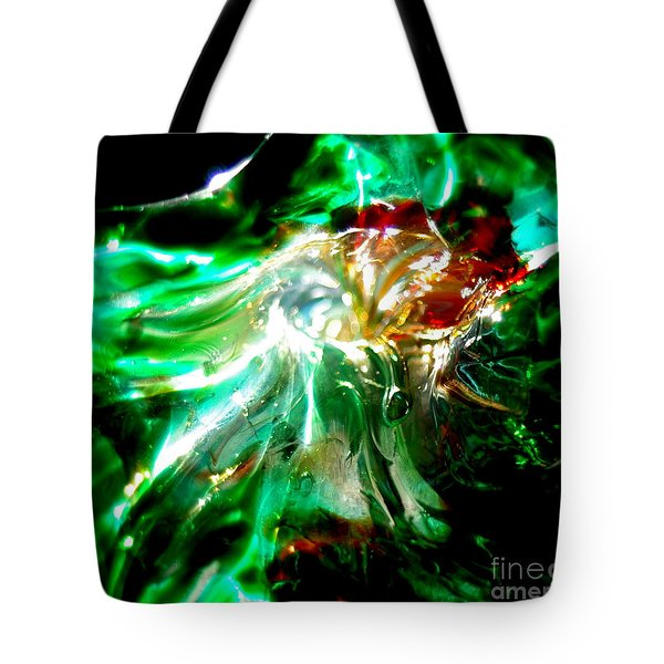Shining Through The Glass II Tote Bag by Kitrina Arbuckle