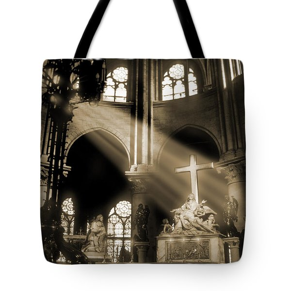 Shinning Through Tote Bag