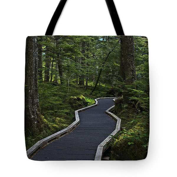 Shinrin Yokin Tote Bag by Sandi Mikuse