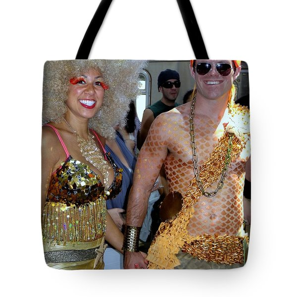 Tote Bag featuring the photograph Shiny Happy People by Ed Weidman