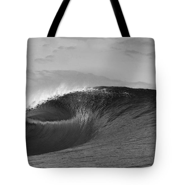 Shiny Tunnel Tote Bag by Sean Davey