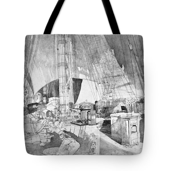 Ship Austria, C1816 Tote Bag