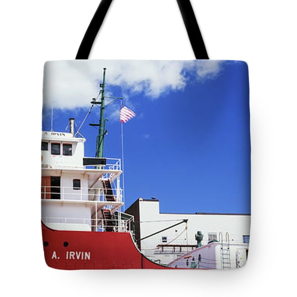 Ship Museum At A Harbor, William A Tote Bag