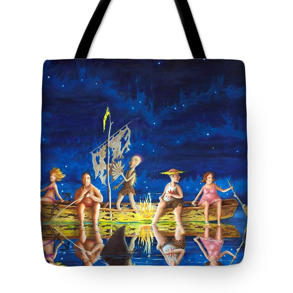Ship Of Fools Tote Bag by Matt Konar