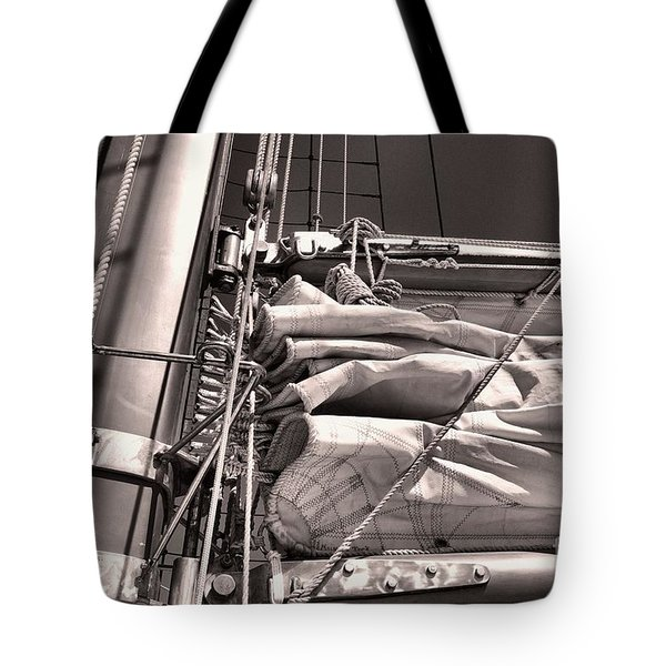 Tote Bag featuring the photograph Ship Shape 1 by John S