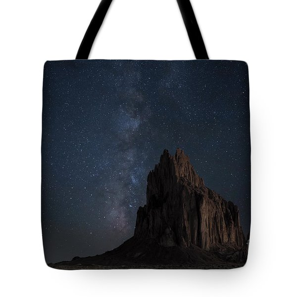 Tote Bag featuring the photograph Shiprock by Keith Kapple