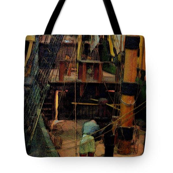 Ship's Carpenter Tote Bag