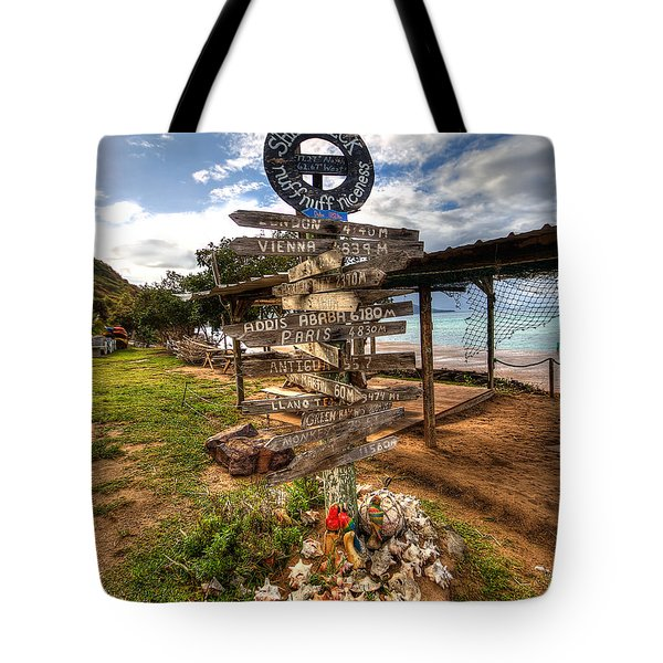 Shipwreck Beach Tote Bag
