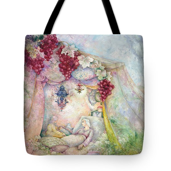 Shir Hamalot Tote Bag by Michoel Muchnik