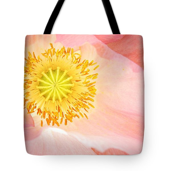 Shirley Poppy Center Tote Bag by Chris Berry