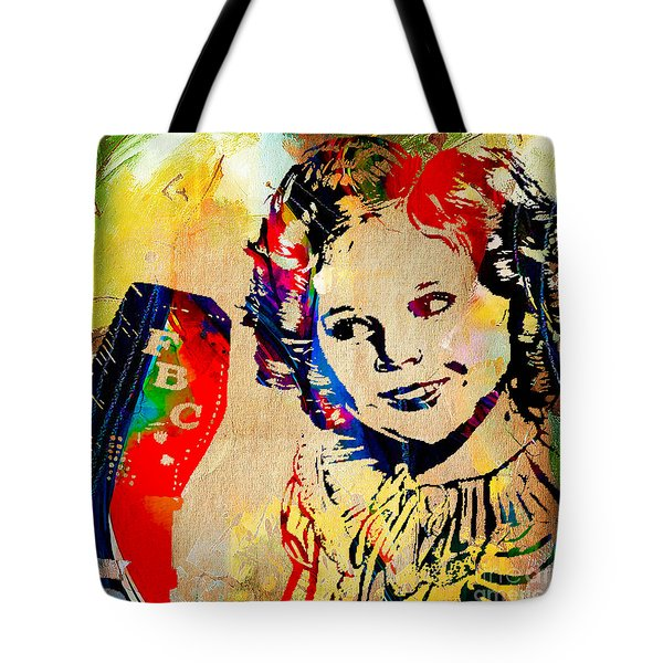Shirley Temple Collection Tote Bag