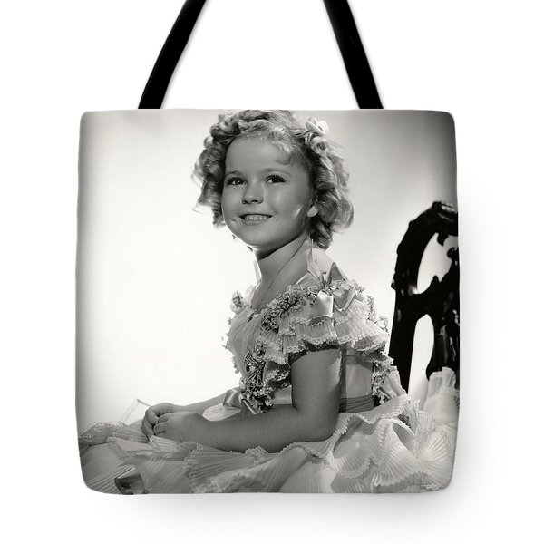 Shirley Temple Portrait Tote Bag