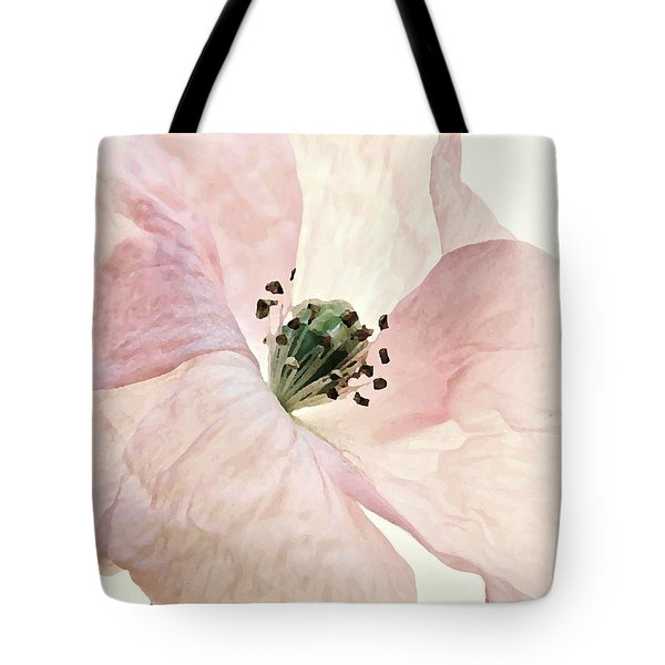 Shirley Watercolor Tote Bag by Chris Berry