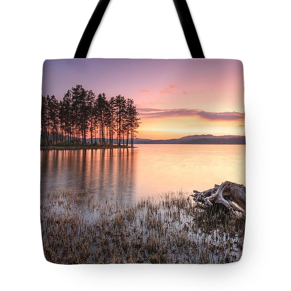 Shiroka Polyana Lake  Tote Bag by Evgeni Dinev