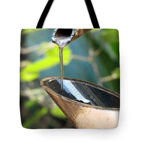 Shishi Odoshi Tote Bag