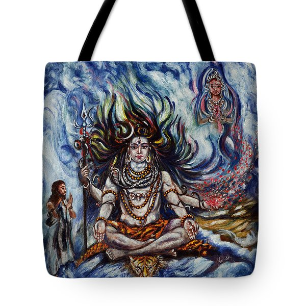 Shiva - Ganga - Harsh Malik Tote Bag