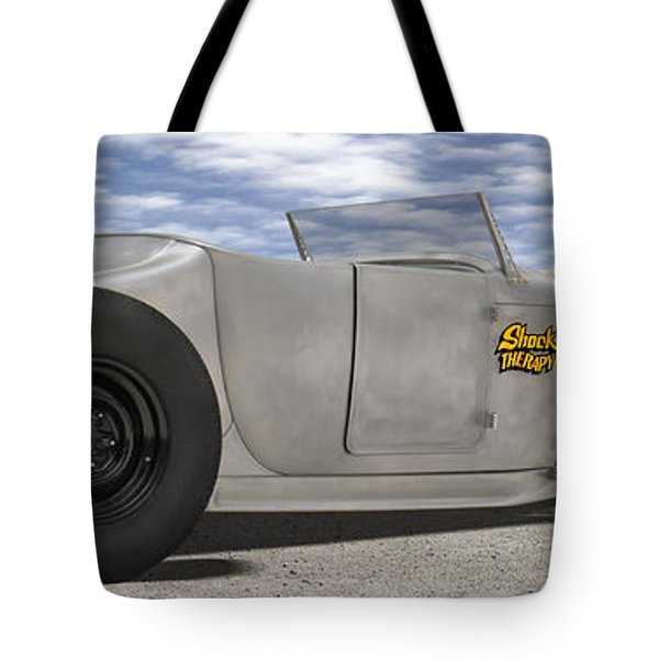Shock Therapy At Gallap Tote Bag by Mike McGlothlen
