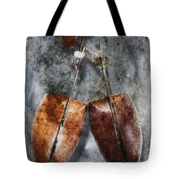 Shoe Trees Tote Bag by Skip Nall