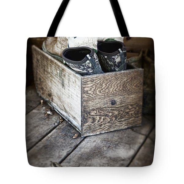 Shoebox Still Life Tote Bag