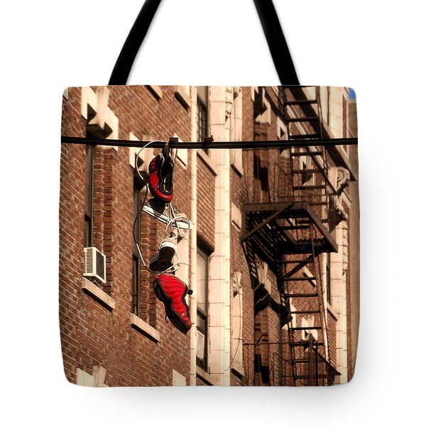 Shoes Hanging Tote Bag by RicardMN Photography