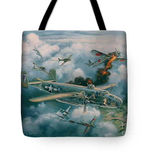 Shoot-out Over Saigon Tote Bag by Randy Green