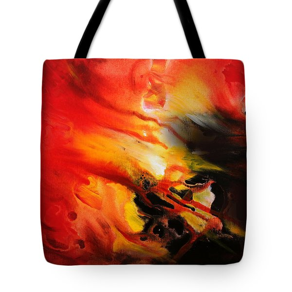 Tote Bag featuring the painting Shooting Star by Kume Bryant