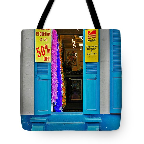 Shop New Orleans Tote Bag by Christine Till