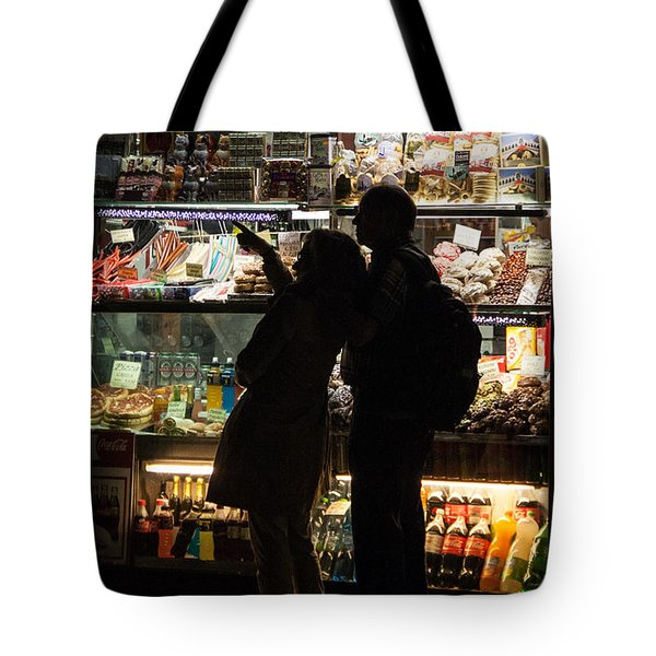 Tote Bag featuring the photograph Shop by Silvia Bruno