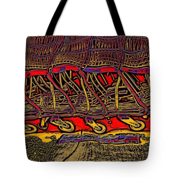 Shopping Carts Tote Bag