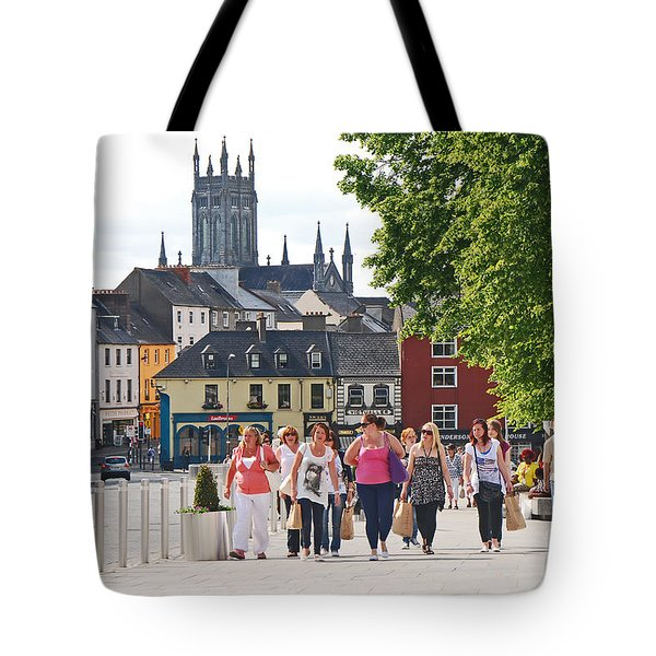 Tote Bag featuring the photograph Shopping Trip by Mary Carol Story