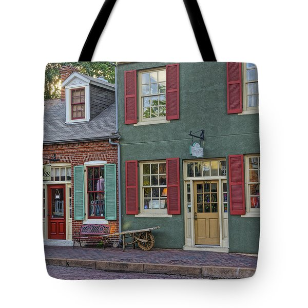 Shops S Main St Charles Mo Dsc00886  Tote Bag