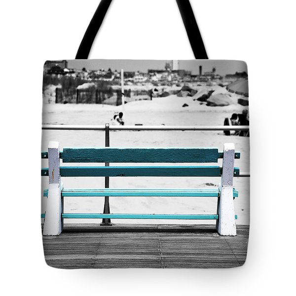 Shore Bench Fusion Tote Bag