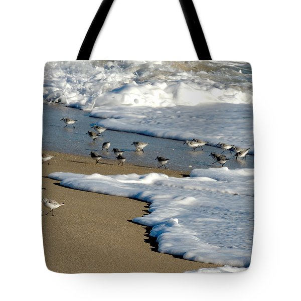 Shore Birds South Florida Tote Bag