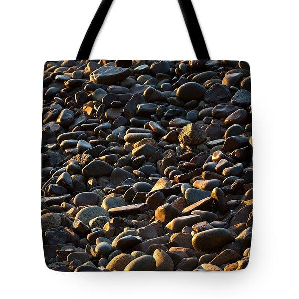 Shore Stones Tote Bag by Steve Gadomski
